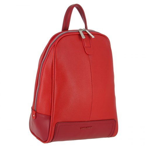 Рюкзак женский David Jones 6014 чёрный красный белый