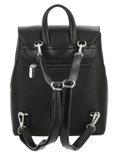 Рюкзак женский David Jones 6211-3 бирюзовый, чёрный, коричневый
