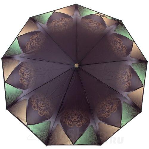 Зонт женский автоматический Три слона 3991 зелёный