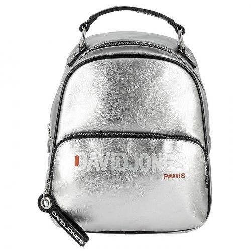 Рюкзак женский David Jones 6237-4 серебро