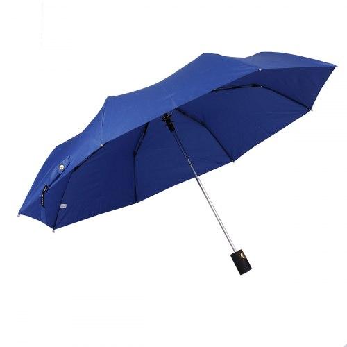 Зонт полу автоматический Три слона 886 синий