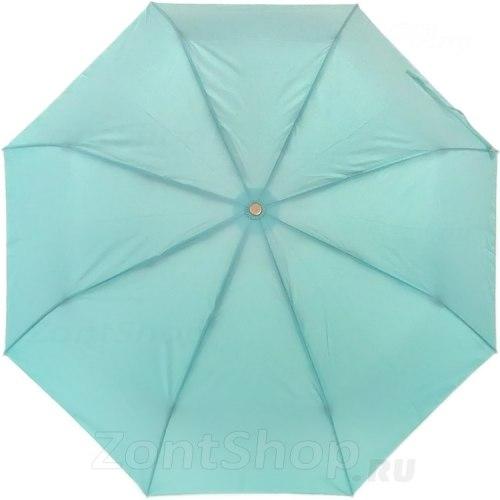 Зонт полу автоматический Три слона 886 бирюзовый