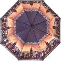 Зонт полу автоматический Три слона 882 рассвет