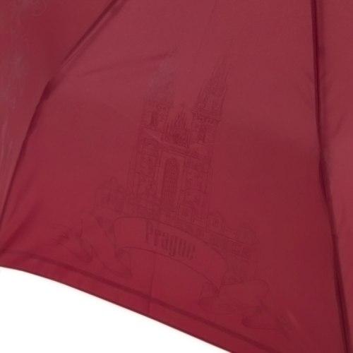 Зонт женский автомат Три слона 198 бордовый Прага