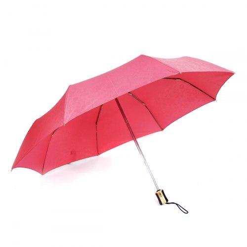 Зонт женский автомат Три слона 106 Розовый