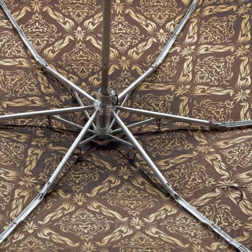Зонт женский механический Zest 55518 коричневый