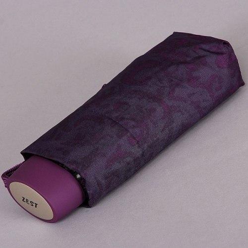 Зонт женский механический Zest 55518 фиолетовый