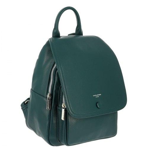 Рюкзак женский David Jones 6626-2 чёрный, бирюзовый