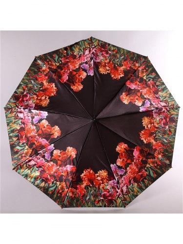 Зонт женский (Сатин) Zest 23944 Цветы