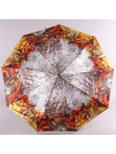 Зонт женский (Сатин) Zest 23944 город