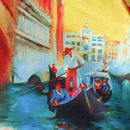 Зонт женский (Сатин) Zest 23944 лодка