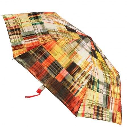 Зонт женский (Сатин) Zest 23944 клетка