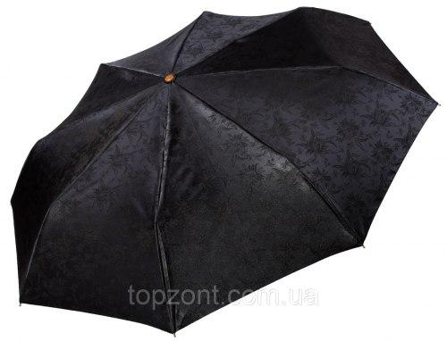 Зонт женский автоматический Три слона 120 черный
