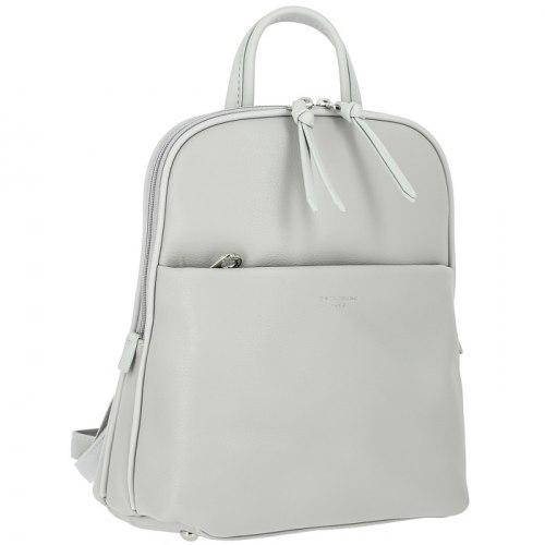 Рюкзак женский David Jones 6219-2 чёрный, белый, серый