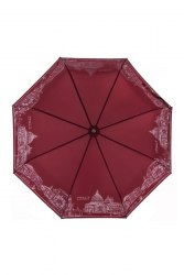 Зонт женский автоматический Три слона 3897 красный