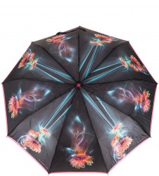 Зонт женский (Сатин) Zest 23944 (Герберы)