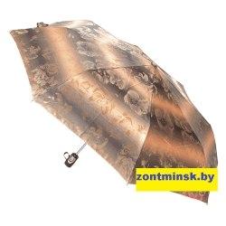Зонт женский супер автомат Жаккард Три слона 129-1