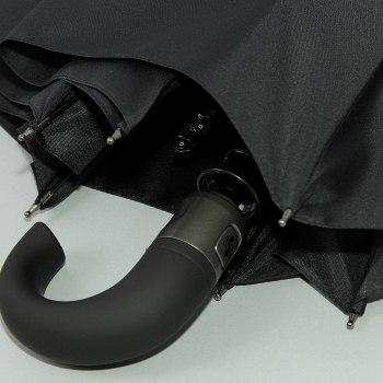 Зонт муж. Крюк черный Zest 13920 (3 сложения)