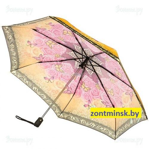 Зонт женский шёлковый облегчённый Три слона 090