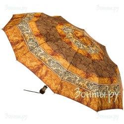Зонт женский полуавтоматический Zest 53618 (Охра)