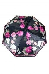Зонт женский автомат Три слона 880 (Цветы)