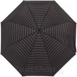 Зонт с увеличенным куполом в клетку Три слона 730 Бронза