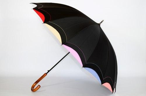 Зонт трость Три слона 1100 Чёрный