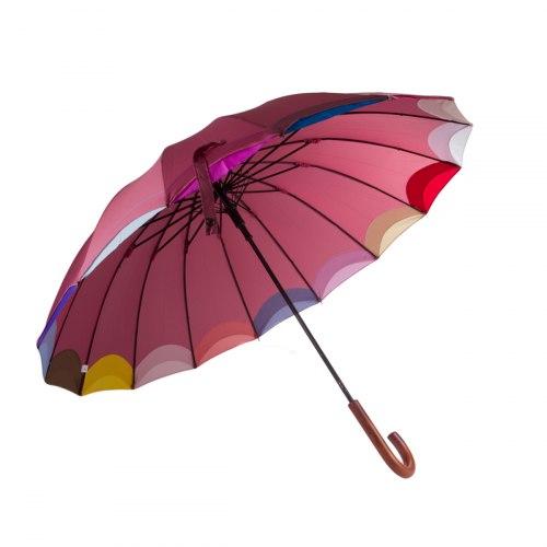 Зонт трость Три слона 1100 Розовый