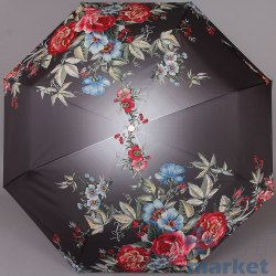 Зонт картина Trust 31475 Цветы на чёрном