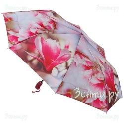 Зонт женский автомат Zest 23945 (Камелии)