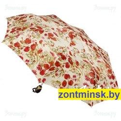 Зонт жаккардовый Три слона 127 (Тюльпаны)