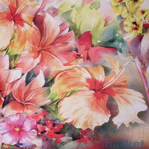 Зонт женский автомат Trust 31475 Красные цветы