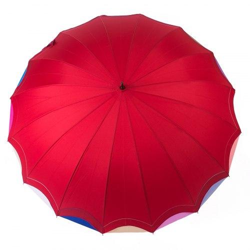 Зонт трость Три слона 1100 Красный