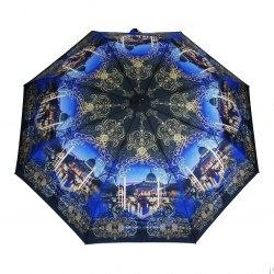 Зонт женский автомат Три слона 883 Синий город
