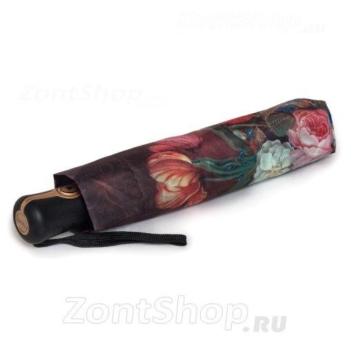 Зонт женский автомат Три слона 883 Цветы