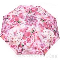 Зонт женский полуавтомат Zest 23625 Розовая яблоня