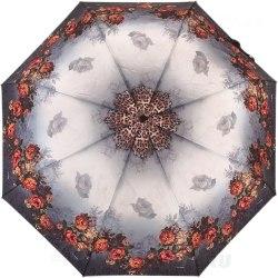Зонт женский автомат Три слона 883 Розы