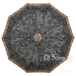 Зонт женский полуавтомат Zest 53616 Чёрный