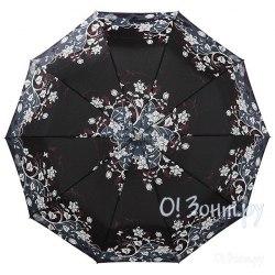 Зонт женский полуавтомат Zest 53616 Цветы