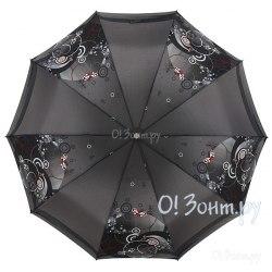 Зонт женский полуавтомат Zest 53616 Серый