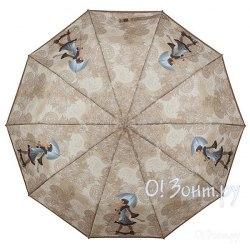 Зонт женский полуавтомат Zest 53616 Бежевый