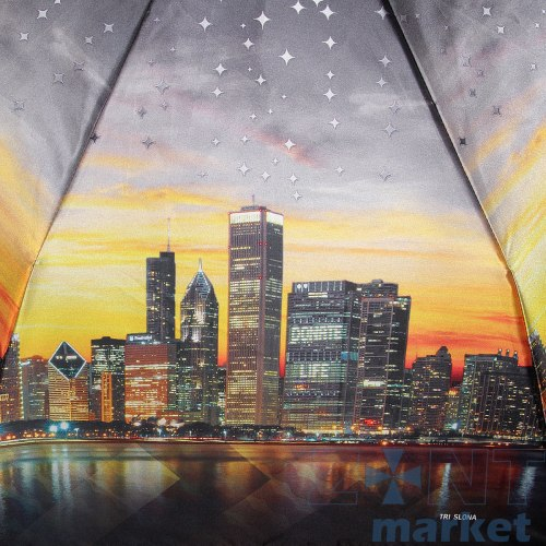 Зонт женский автомат Три слона 884 Город