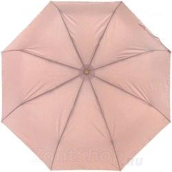 Зонт женский полуавтомат Три слона 886 Бежевый