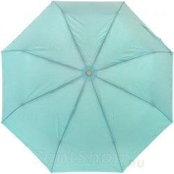Зонт женский полуавтомат Три слона 886 Бирюзовый